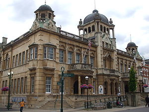 Ilford - Image: Ilford Redbridge Town Hall