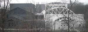 Illinois Holocaust Museum and Education Center - View of museum from the East