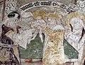Im frühen 14. Jahrhundert schuf Rudolphus von Wimpfen die Fresken in der Marienkirche. Beschneidung Jesu.jpg