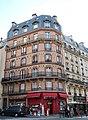 Immeuble rue de la Montagne-Sainte-Geneviève, rue des Écoles, Paris 5e.jpg
