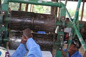 Rutshuru Territory - Women work at income generating project in Rutshuru. June 2009