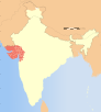 India Gujarat locator map.svg