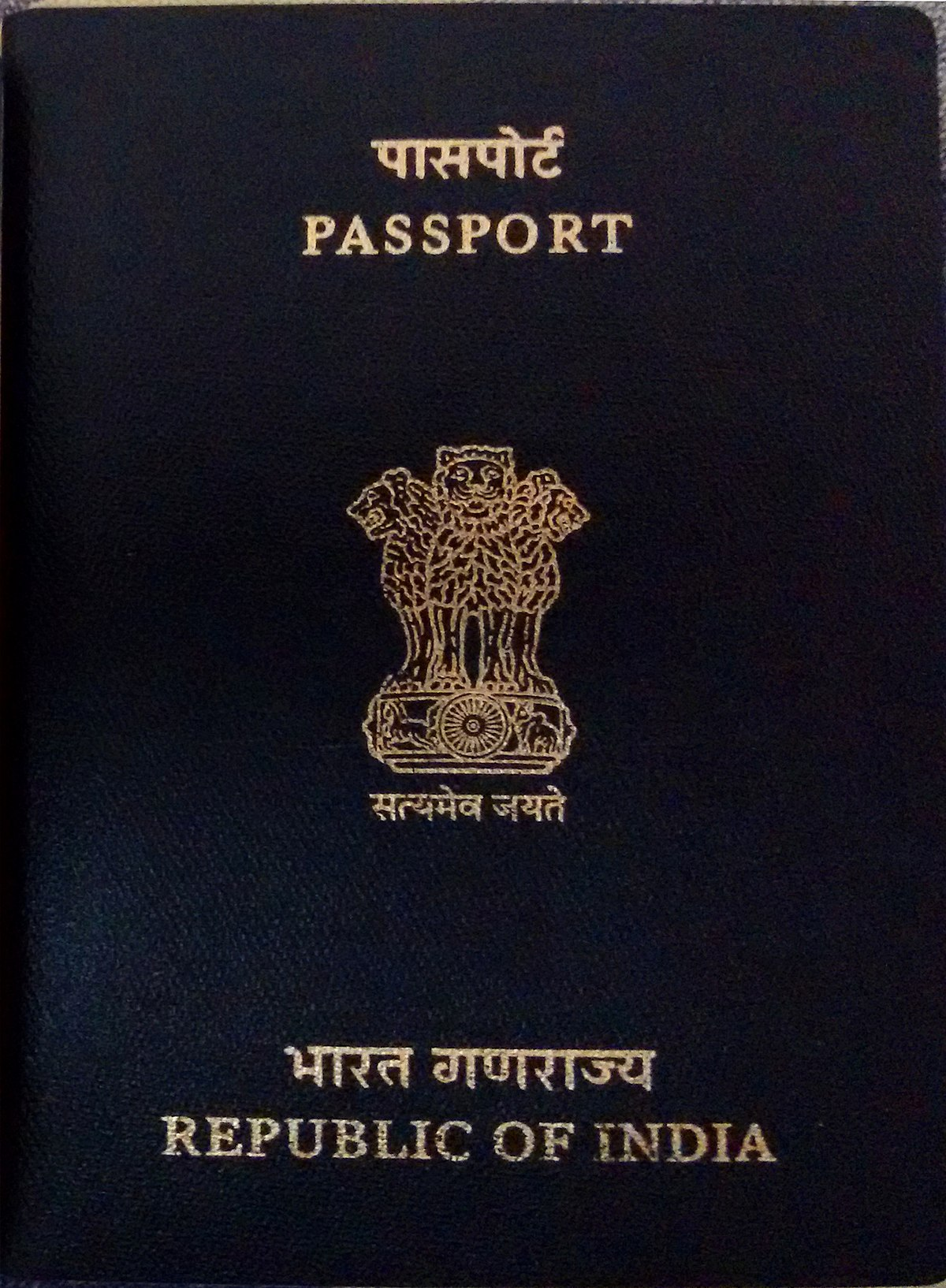 indian passport wikipedia