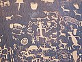 Indian petroglyphs (~100 B.C. to ~1540 A.D.) (Newspaper Rock, southeastern Utah, USA) 26 (22463194408).jpg