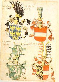 Folio I (die Länder Herzog Albrechts)