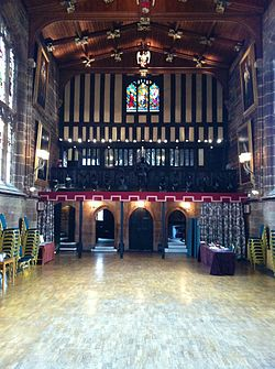 Inside St Mary's Guildhall, Coventry by mintchocicecream