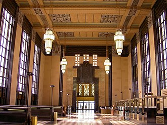 Gilbert Stanley Underwood - Inside Omaha's Union Station (1931)