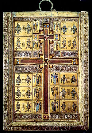 Basil Lekapenos - The cross-reliquary of Limburg, commissioned by Basil