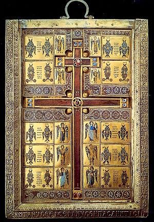 Basil Lekapenos - The cross-reliquary of Limburg, commissioned by Basil