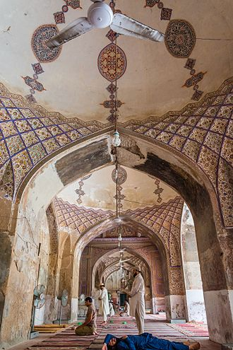 Lahore - The Begum Shahi Mosque was completed in 1614 in honour of Jahangir's mother, Mariam-uz-Zamani.