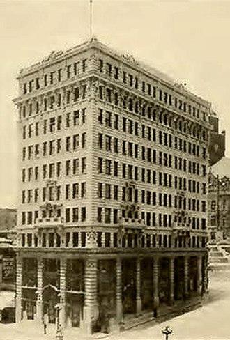 International Savings & Exchange Bank Building - Image: International Savings Bank Building