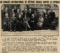 International congress on the social control of syphilis Wellcome V0028876.jpg