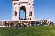 International students, class of 1998-99 (United States Army Command and General Staff College, Fort Leavensworth, Kansas) on a class trip to Gettysburg
