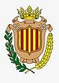 Interpretació de l'antic escut municipal de Patraix. Concepció artística realitzada per Óscar Hernández Suárez.jpg
