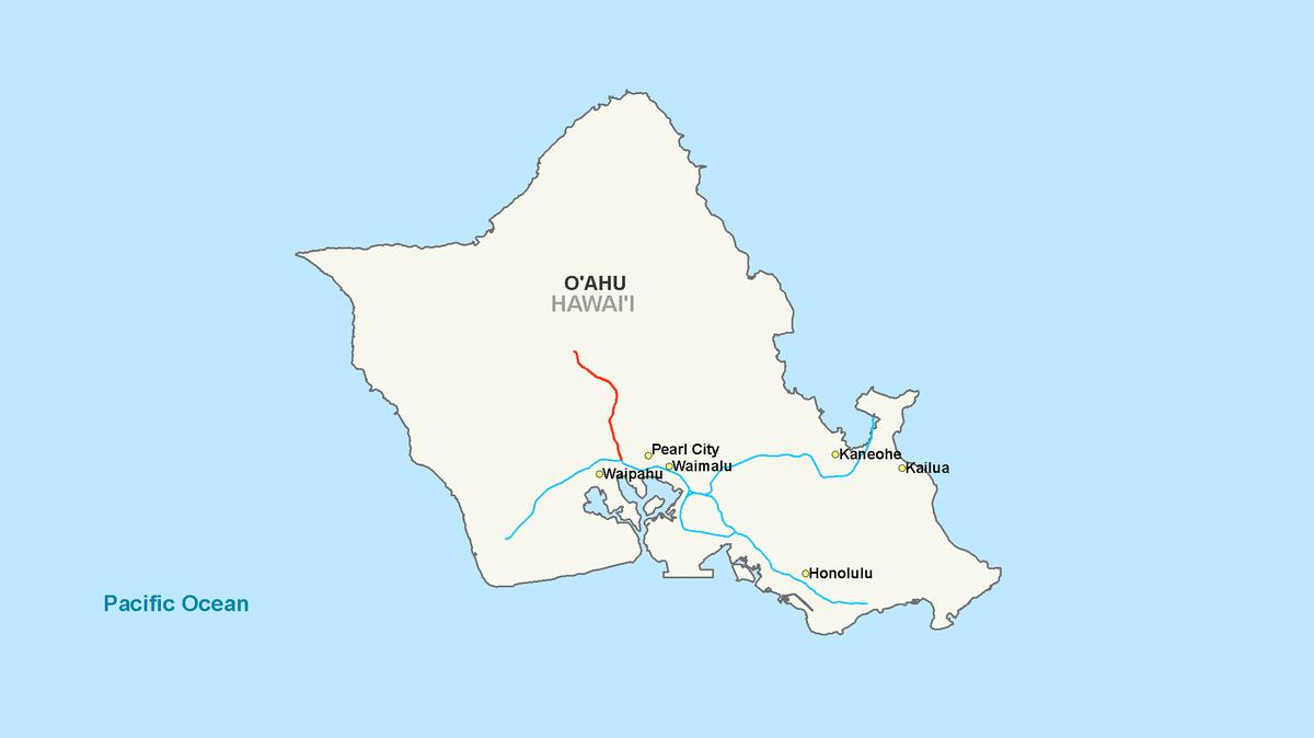 Major Island In Hawaii