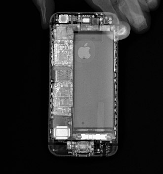 IPhone 6S - X-ray of the iPhone 6S