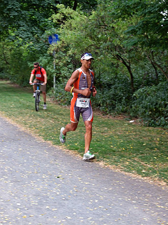 Chris McCormack (triathlete) - Image: Ironman 2008 ffm mccormack 002