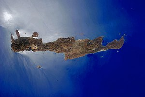 Geography of Greece - NASA photograph of Crete