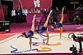 Israel Rhythmic gymnastics at the 2012 Summer Olympics (7915082100).jpg