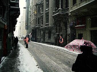 Istanbul - invierno 2008