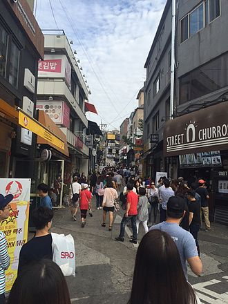 Itaewon - Itaewon Gyeongnidan-gil