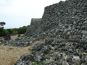 Itokazu Castle - Image: Itokazu Castle