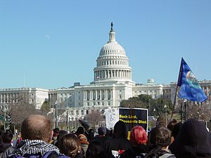 January 27, 2007 anti-war protest - Protest in Washington, D.C., organized by United for Peace and Justice