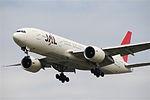 JAL Japan Airlines Boeing 777-200, JA706J@LHR,05.08.2009-550kb - Flickr - Aero Icarus.jpg