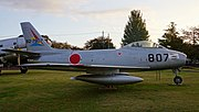 JASDF F-86F(82-7807) right side view at Iruma Air Base November 3, 2014.jpg