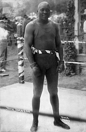 Sam Langford - Jack Johnson, the first, world heavy weight champion, refused to fight Langford, knowing he might possibly be defeated, circa 1910-1915