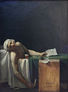 Jacques-Louis David - Marat assassiné.jpg