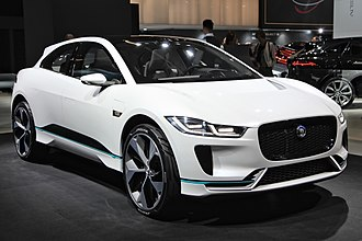 Jaguar I-Pace - The production car is 12mm narrower and 12mm lower than the Concept (pictured).