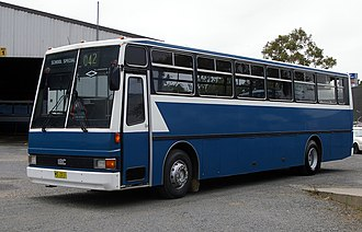 Busabout Wagga Wagga - Jakab bodied IBC in Fearnes Coaches livery in December 2008
