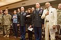 James Meredith, Civil rights icon reunited with military escorts 53 years later at Fort Hood Black History Month Observance 160225-A-DU810-002.jpg
