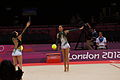 Japan Rhythmic gymnastics at the 2012 Summer Olympics (7915464124).jpg