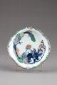 Japansk fat från 1700-talet med drake - Hallwylska museet - 96002.tif
