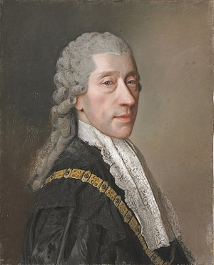 Wenzel Anton, Prince of Kaunitz-Rietberg - Portrait by Jean-Étienne Liotard (1762), wearing the chain of the Order of the Golden Fleece