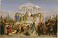 Jean-Léon Gérôme - The Age of Augustus, the Birth of Christ - 85.PA.226 - J. Paul Getty Museum.jpg