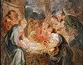 Jean-honoré fragonard, adorazione dei pastori da rubens, 02.jpg