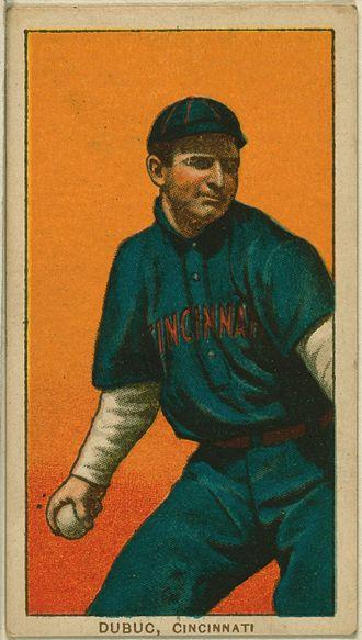 Jean Dubuc - Jean Dubuc baseball card