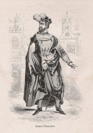 John V, Count of Armagnac - Image: Jean V Comte d Armagnac