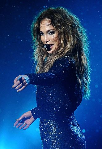 Jennifer Lopez discography - Lopez performing during her Dance Again World Tour in 2012