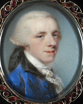 Sir Richard Neave, 1st Baronet - Portrait of Sir Richard Neave, by Jeremiah Meyer