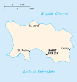 Location of Jersey