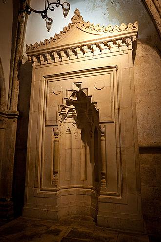 Cenacle - The mihrab