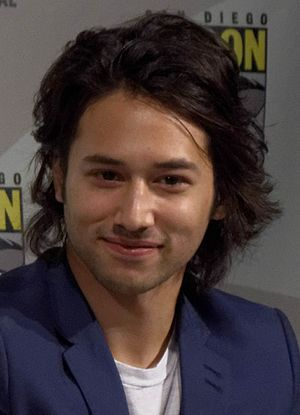 Jesse Rath - Rath at the Defiance panel at the 2013SDCC