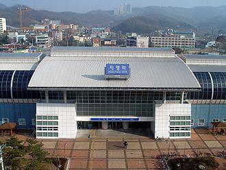 Jihaeng station - Image: Jihaeng Station