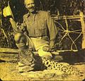Jim Corbett after killing the Leopard of Rudraprayag in 1925.jpg