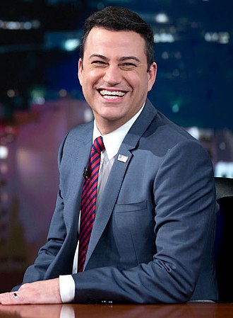 Jimmy Kimmel - Kimmel during a Jimmy Kimmel Live! video taping in March 2015