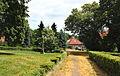 Jirkov, Červený Hrádek, small park.jpg